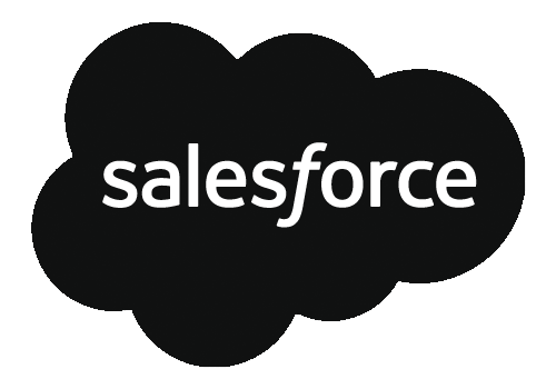 Logo for Salesforce, a CRM software that can be integrated with Core Commissions.