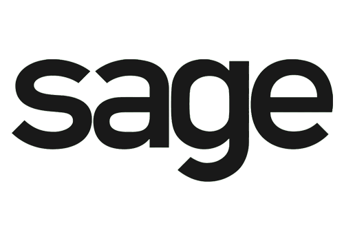 Logo for Sage, an accounting and business software that integrates with Core Commissions through an ETL module.