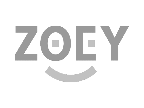 Logo for Zoey, a B2B ecommerce platform that Core Commissions can integrate with.